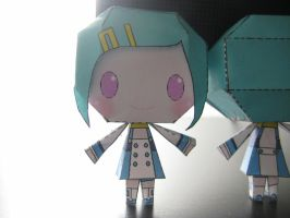 Eureka Papercraft by bunnycharms