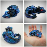Baby Dragon Sculpt by DragonCid