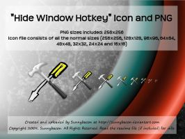 Hide Window Hotkey Icon + PNG by sunnybacon