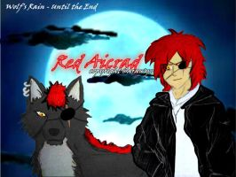 Red -old- Wolf's Rain by MissSarawyn