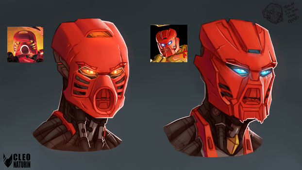 Tahu Gen1 Gen2 Masks by Kanoro-Studio