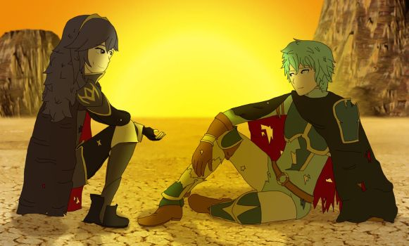 Lucina and Ephraim by ThePontusAndersson