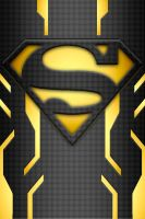 Superman Power Suit idea black by KalEl7