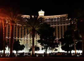Bellagio Water Show. by Shutter-Bug1