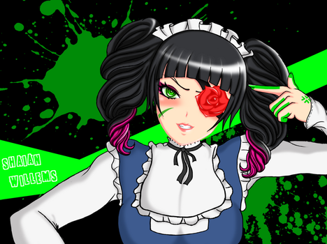 SMT-Nanashi maid Colored by ShaianWillems