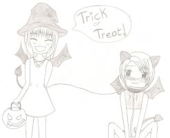 Trick or Treat! - Contest Entry by ansjovisjj
