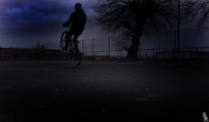 Wheely in the dark by wellgraphic