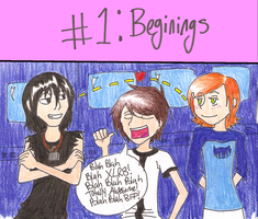 100 fanart challenge_Beginings by Bubble-Gum-Gir