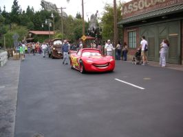 Lightning McQueen and Mater arrived in Carsland. by Prince5s