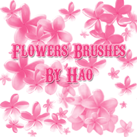 Flower Brushes by hao08