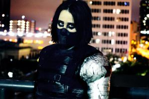 Winter Soldier Cosplay - He Doesn't Exist by LaneDevlin