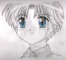 TMM:Young Ryou Shirogane by Puddingg