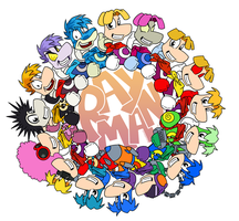 Rayman Evolution by raygirl