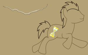 Doctor Whooves Wallpaper{cutie mark} by Peora