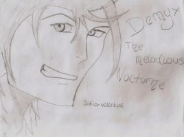 Demyx - The Melodious Nocturne by Sofia-Valentine