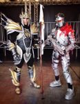 Jarvan IV and Shepard - LoL and MassEffect Cosplay by LeonChiroCosplayArt