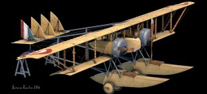 Caudron G.4 Hydro - WIP by rOEN911