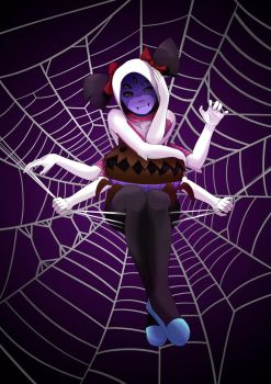 Muffet Spiderwoman by ShadeIrving