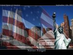 Never Forget 9 11 by destrekor