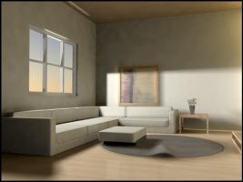 Living Room Interior by xnsx212