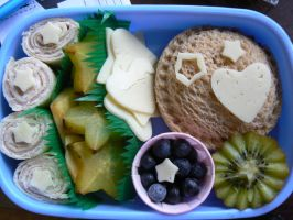 First Bento by Shika-Love