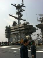 USS George Washington by Afterskies