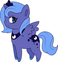 Chibi Luna by Squeemishness
