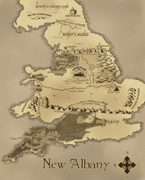 Map of New Albany by shylittleghost