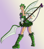 Pokemon Gijinka: Serii Scyther by ssjgirl