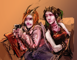 Stella and Petra - Modern Fae by Jack-Kaiser