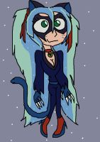 Sonia as in One Piece as a cat by PowderPuffBunny