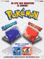 Omega Ruby and Alpha Sapphire Special Edition 3DS. by Chop-StiXz