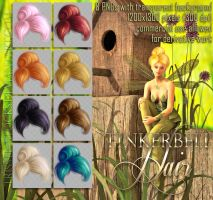 Tinkerbell HAIR stock by Trisste-stocks