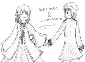 APH: SwitzerlandXLiechtenstein by Selinawen