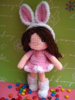Amigurumi crochet pattern-Rose by jennyandteddy