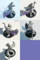 Aerodactyl Sculpture