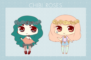 blue rose adoptable ~open! by milkyteru