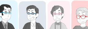 Glasses by Floral-print-boots