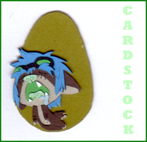 Cardstock Cutouts- Seel 2 by chaoticdreamer