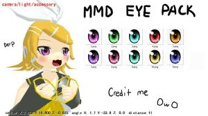 MMD eye pack download by Vocaloid98