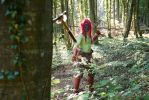 Practice dat Axe Throw - Forest Troll, Warcraft by Carancerth