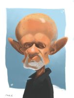 Mike Ehrmantraut by DisorientBlue