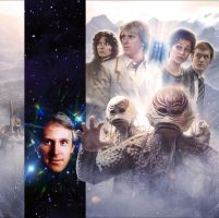 Doctor Who - Mistfall Cover Artwork by willbrooks