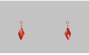 MMD Earrings by amiamy111
