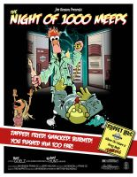 The Night of 1000 Meeps - Bunsen and Beaker by Bleezer