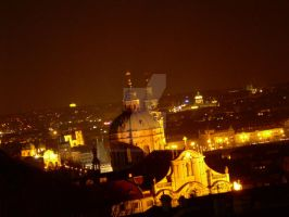 Praga by night by MurasakiChibiNeko