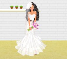 Luxury Wedding Dress dressup-2 by Brandee-Ssj-Doll