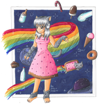 Nyan Cat - Lost in Space by Errya