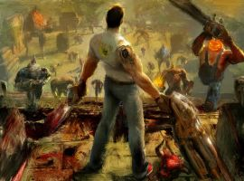 Serious Sam by stalepizza