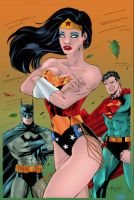 DC's Big Three by Blindman-CB
